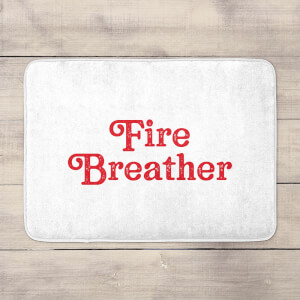 Fire Breather Bath Mat