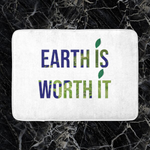 Earth Is Worth It Bath Mat