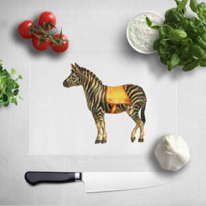 Circus Zebra Chopping Board