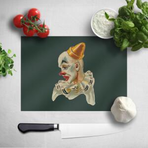 Serious Clown Chopping Board