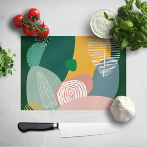 Pastel Garden Chopping Board