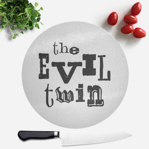 The Evil Twin Round Chopping Board