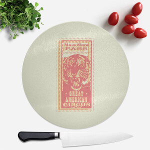 Great American Circus Round Chopping Board