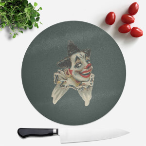 Happy Clown Round Chopping Board