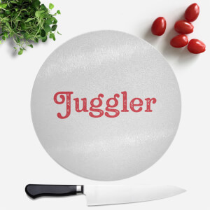 Juggler Round Chopping Board