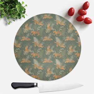 Jungle Round Chopping Board