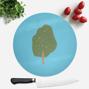 Tree Round Chopping Board
