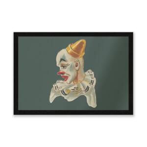 Serious Clown Entrance Mat
