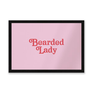 Bearded Lady Entrance Mat