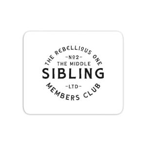The Middle Sibling The Rebellious One Mouse Mat