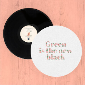 Green Is The New Black Slip Mat