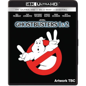 Ghostbusters I (1984) & II (1989) - 4K Ultra HD (Includes 2D Blu-ray)
