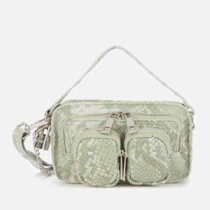 Núnoo Women's Helena Snake Cross Body Bag - Light Green