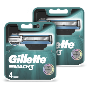 Mach3 Men's Razor Blades (8 Pack) - 6 Month Bundle