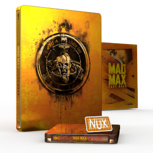 Titans Of Cult: Mad Max Fury Road 4K Ultra HD Steelbook (Includes 2D Blu-ray)