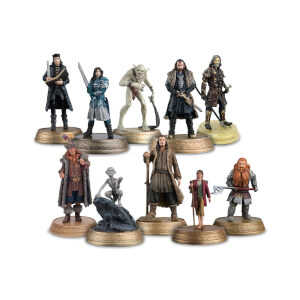The Hobbit Collector's Complete Set of 10 Figures