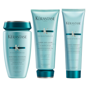 Kérastase Résistance 3 Step Strengthening Routine for Damaged Hair