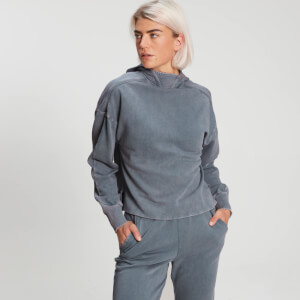 MP Women's Raw Training Washed Kapuzenpullover - Galaxy