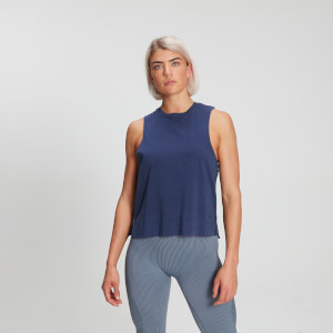 MP Raw Training Dropped Armhole Damesvest - Midnight