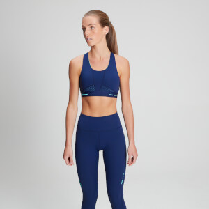 MP Women's Power Ultra Sports Bra - Midnight/Jade