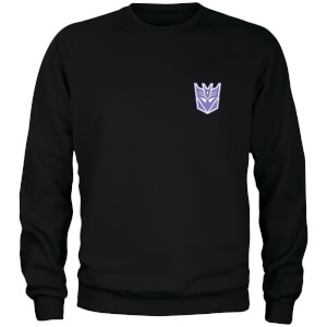 Sweat-shirt Transformers Decepticons - Noir - Unisexe