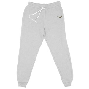 Harry Potter Snitch Embroidered Unisex Joggers - Grey