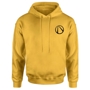 Borderlands Embroidered Unisex Hoodie - Yellow