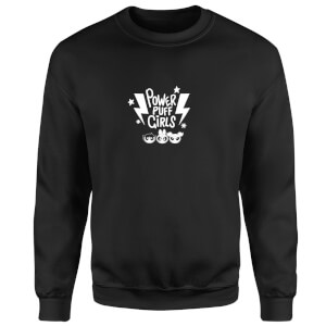 The Powerpuff Girls Thunderbolts Sweatshirt - Black
