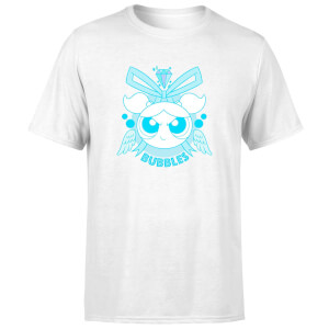 The Powerpuff Girls Bubbles Unisex T-Shirt - White