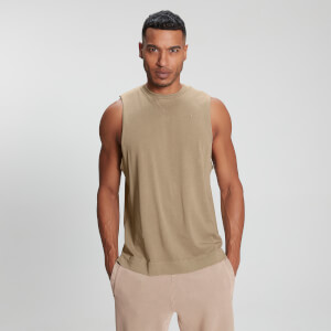 MP Men's Raw Training Tank - Tan