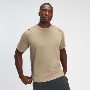 MP Raw Training Heren T-shirt - Lichtbruin