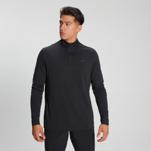MP Men's Velocity ¼  Zip - Schwarz