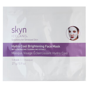 skyn ICELAND Hydro Cool Brightening Face Mask 27g (Single)