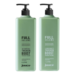 Juuce Full Volume Shampoo and Conditioner Duo 2 x 1L