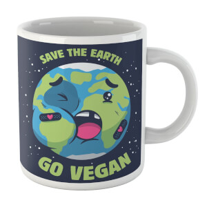 Ilustrata Save The Earth Mug