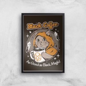 Ilustrata Black Coffee Giclee Art Print