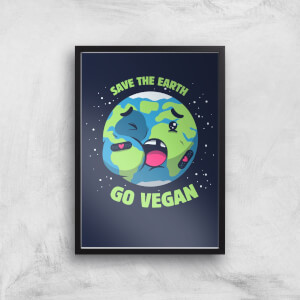 Ilustrata Save The Earth Giclee Art Print