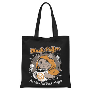 Ilustrata Black Coffee Tote Bag - Black