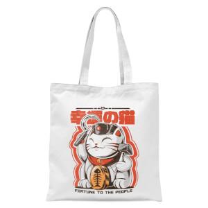 Ilustrata Catunist Tote Bag - White
