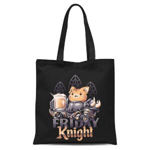 Ilustrata Friday Knight Tote Bag - Black