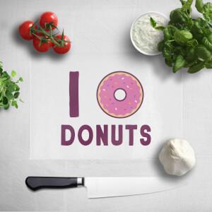 I Heart Donuts Chopping Board