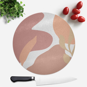 Abstract Scenes Round Chopping Board