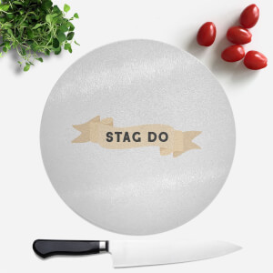 Stag Do Round Chopping Board