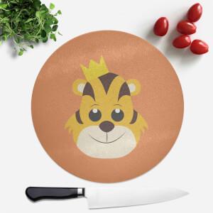 Tiger King Round Chopping Board