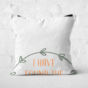 I Have Found The One That My Soul Loves Square Cushion