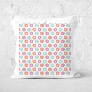 Raining Donuts Square Cushion
