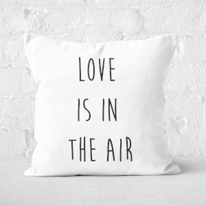 Love Is In The Air Square Cushion