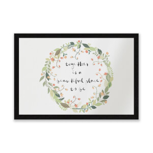 Together Is A Beautiful Place To Be Entrance Mat