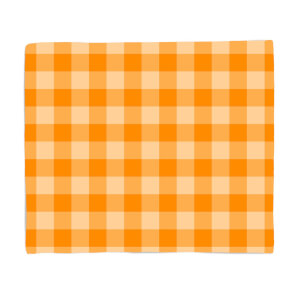 Baking Blanket Orange Fleece Blanket
