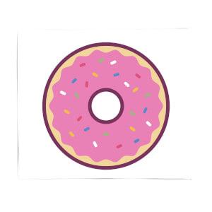 Donut Fleece Blanket